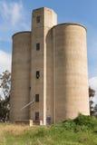 Kornsilor Tallygaroopna NSW Arkivbilder