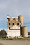 Kornsilor Tocumwal NSW Royaltyfri Foto