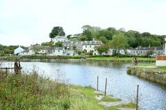 Kornwalijska wioska Zdjęcie Royalty Free