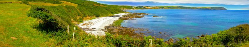 Kornwalijska zatoczka Fotografia Royalty Free