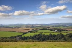Kornwalijski krajobraz Fotografia Stock