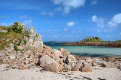 Kornwalijski wybrzeże Zdjęcia Royalty Free