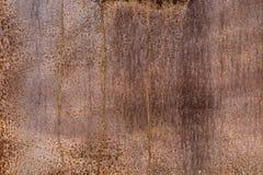 Korodujący ośniedziały metalu drzwi texturee Zdjęcia Royalty Free