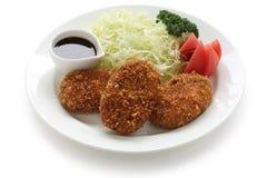 Korokke, japanese croquette Stock Photos