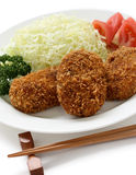 Korokke, japanese croquette Royalty Free Stock Photography