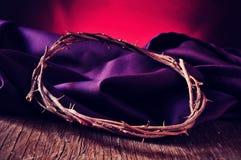 Korona ciernie jezus chrystus obraz royalty free