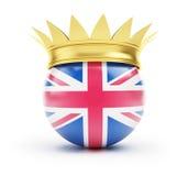 korona England ilustracji