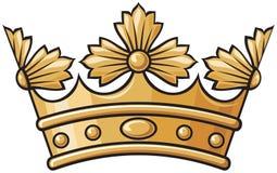korona heraldyczna Ilustracja Wektor