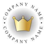 korona logo Zdjęcie Stock