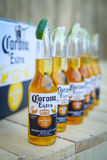 Korona słoneczna zmierzchów sesi przyjęcie w Zagreb, Chorwacja Obrazy Stock