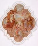 Koronacja maryja dziewica Zdjęcia Royalty Free
