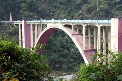 Koronacja most, Zachodni Bengalia, India Obrazy Royalty Free
