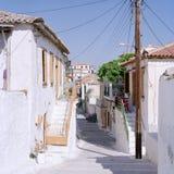 Koroni街道图1998年 库存照片