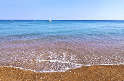 Koroni beach Peloponnese Greece Stock Images