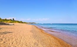 Koroni beach Peloponnese Greece Stock Photography