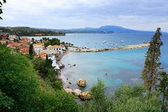 Koroni castle Royalty Free Stock Photos