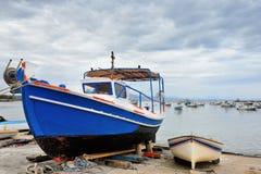 Koroni seafront Royalty Free Stock Image