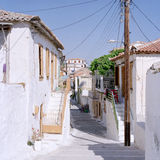Koroni street view 1998 Stock Photo