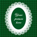 koronki bezszwowy tło ramy wieloletnie Zdjęcie Royalty Free