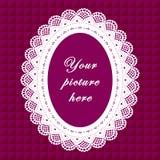 koronki bezszwowy tło ramy wieloletnie Fotografia Stock