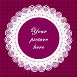 koronki bezszwowy tło ramy wieloletnie Zdjęcia Royalty Free