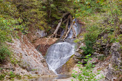 Koronkowa siklawa - Naturalny Bridżowy stanu park, Virginia, usa Obraz Stock