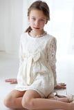 Koronkowa suknia Fotografia Royalty Free
