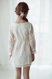 Koronkowa suknia Zdjęcie Royalty Free
