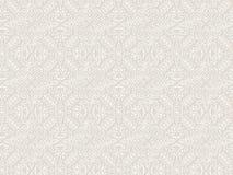 Koronkowego rocznika kwiecisty wektorowy bezszwowy wzór Zdjęcie Stock