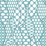 Koronkowej wektorowej tkaniny bezszwowy wzór Zdjęcie Stock
