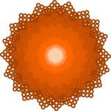 Koronkowi wzorów kwiaty Zdjęcia Stock