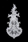 koronkowy ślub obraz stock