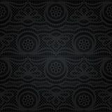 koronkowy bezszwowy abstrakcyjny kwiecisty wzór Fotografia Royalty Free