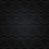 koronkowy bezszwowy abstrakcyjny kwiecisty wzór Obraz Stock