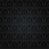 koronkowy bezszwowy abstrakcyjny kwiecisty wzór Obraz Royalty Free