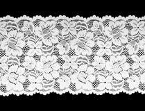 koronkowy biel Zdjęcia Royalty Free