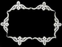 koronkowy biel Zdjęcie Royalty Free