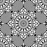 koronkowy deseniowy bezszwowy Obrazy Stock
