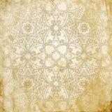 Koronkowy deseniowy tło z indyjskim ornamentem royalty ilustracja