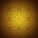 Koronkowy deseniowy tło z indyjskim ornamentem Obraz Stock