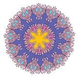 Koronkowy mandala Obraz Royalty Free