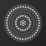 Koronkowy mandala projekta wzoru wektor Zdjęcia Royalty Free