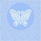 Koronkowy motyl Zdjęcia Stock