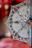 koronkowy pamiątkarski parasol Fotografia Royalty Free