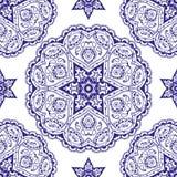 Koronkowy wzór ilustracja wektor