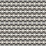 Koronkowy wzór, wektorowa monochromatyczna bezszwowa tekstura, gładzi linie Zdjęcie Stock