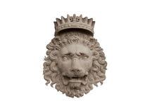 koronowany lew obraz royalty free