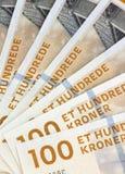 koronuje waluty danish Denmark Obrazy Stock