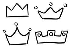korony ilustracji