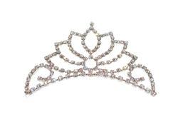 korony diademu odosobniona tiara Obraz Royalty Free